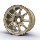 Steel disks for a car 3D illustration Stock Photo