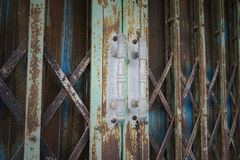 Steel Door Royalty Free Stock Image