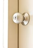 A steel door knob Royalty Free Stock Image