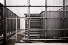 Steel door Royalty Free Stock Image