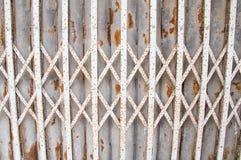 Steel door stretch Stock Photography