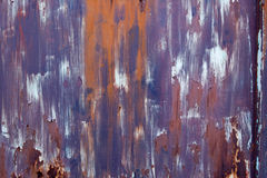 Steel door texture rusty Stock Photo