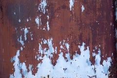 Steel door texture rusty Royalty Free Stock Photos