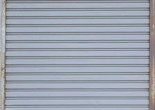 Steel door textures Royalty Free Stock Photos