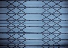 Steel door vintage with selenuim tone Stock Images
