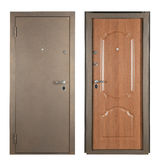 Steel doors Stock Images