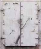 Steel doors Stock Image