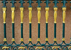 Steel doors Decorative Lanna Stock Photography