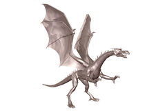 Steel Dragon Royalty Free Stock Image