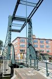 Steel drawbridge Stock Photos