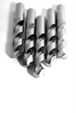 Steel drills Royalty Free Stock Photo