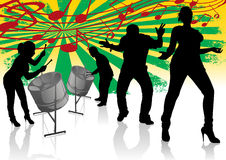 Steel Drum Calypso Street Party Royalty Free Stock Images