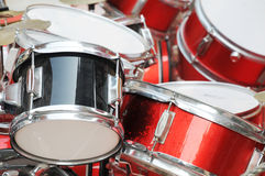 The steel drum kit Royalty Free Stock Photo