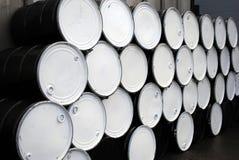 Steel Drums. Black and white steel drums Stock Image