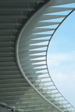 Steel Eaves Structure Stock Photo