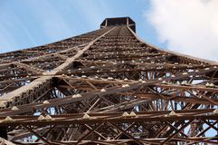 Steel Eiffel Tower Stock Photography