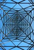 Steel Electricity Pylon Royalty Free Stock Photography