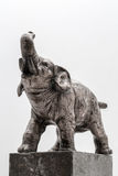 Steel elephant Royalty Free Stock Photos