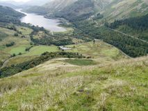 Steel End by Thirlmere, Lake District Royalty Free Stock Images