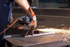 Steel factory Stock Image