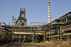 Steel  Factory In China. Stock Image