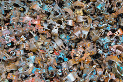 Steel fasteners Royalty Free Stock Photography