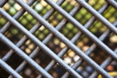 STEEL FENCE Royalty Free Stock Photos