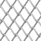 Steel Fence Royalty Free Stock Photography