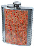 Steel flask Stock Photo
