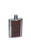 Steel flask Stock Image