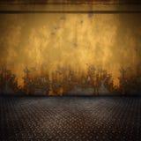 Steel floor Stock Image