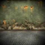 Steel floor Royalty Free Stock Photography