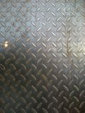 Steel Floor or plate with small corrosive for your background Royalty Free Stock Image