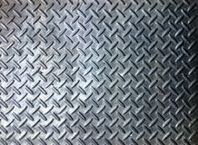 Steel floor surface Royalty Free Stock Image