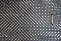 Steel floor texture. Black color Royalty Free Stock Photos