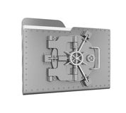 Steel Folder Vault Stock Images