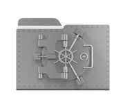 Steel Folder Vault Stock Photos