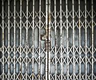 Steel folding door Stock Images