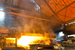 Steel foundry Stock Images