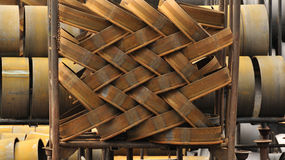 Steel foundry stock Royalty Free Stock Photos