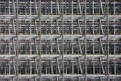 Steel frame Stock Image