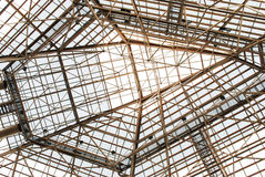 Steel frame royalty free stock photography