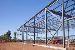 Steel Frame Royalty Free Stock Image