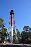 Steel frame lighthouse. A photo of a steel frame lighthouse Royalty Free Stock Images