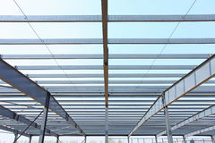 Steel frame structure Royalty Free Stock Image