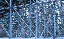 Steel frame structure Stock Photography