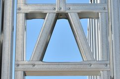 Steel Frame 3 Royalty Free Stock Photo