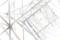 Steel framework abstract background