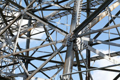 Steel framework Royalty Free Stock Image