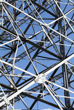 Steel framework Stock Images